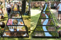 Pyramid Well Dressing