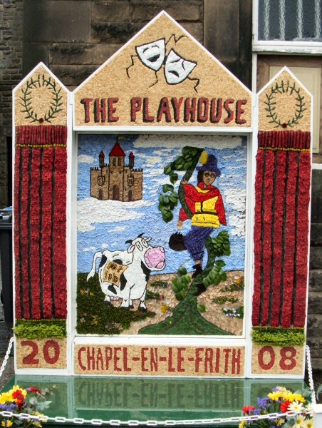 Chapel-en-le-Frith 2008 - Town Well Dressing