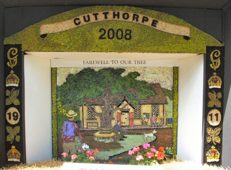 Cutthorpe 2008 - Village Well Dressing