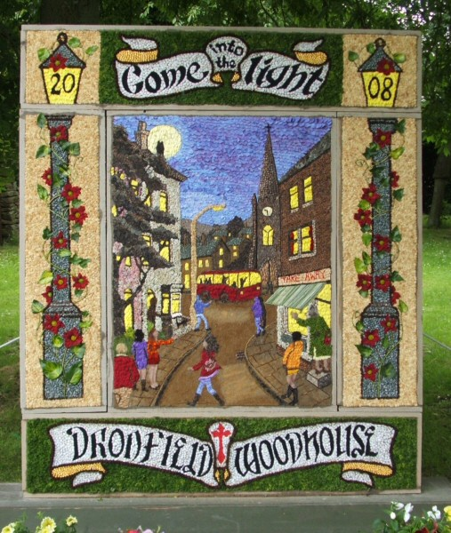 Dronfield Woodhouse 2008 - Main Well Dressing