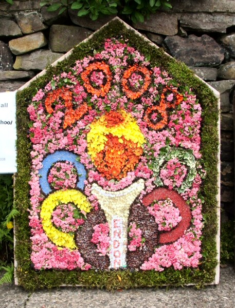 Endon 2008 - Endon Hall Primary School Well Dressing