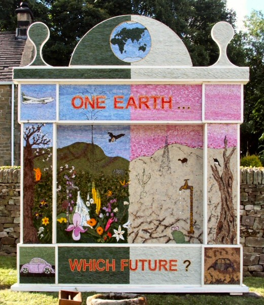 Eyam 2008 - Town End Well Dressing