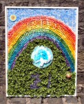 All Saints RC Church - Rainbows Well Dressing