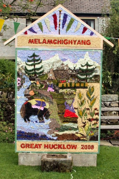 Great Hucklow 2008 - Village Well Dressing