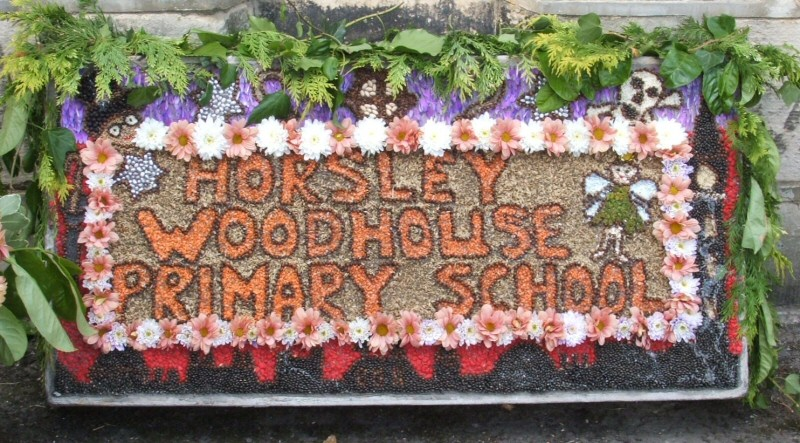Horsley Woodhouse 2008 - Primary School Well Dressing (2)