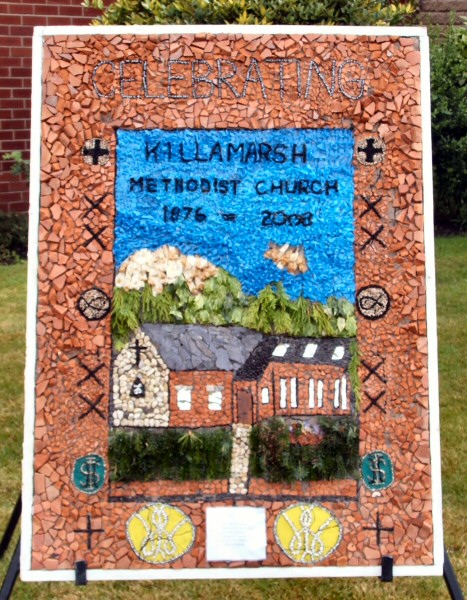 Killamarsh 2008 - Methodist Church Well Dressing (2)