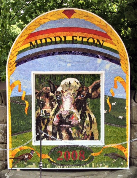 Middleton by Youlgrave 2008 - Village Well Dressing
