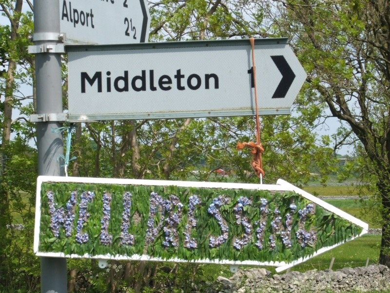Middleton by Youlgrave 2008 - Fingerboard, north of village