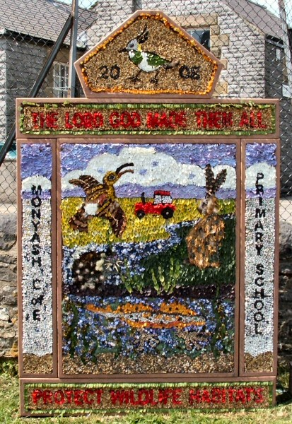 Monyash 2008 - Primary School Well Dressing