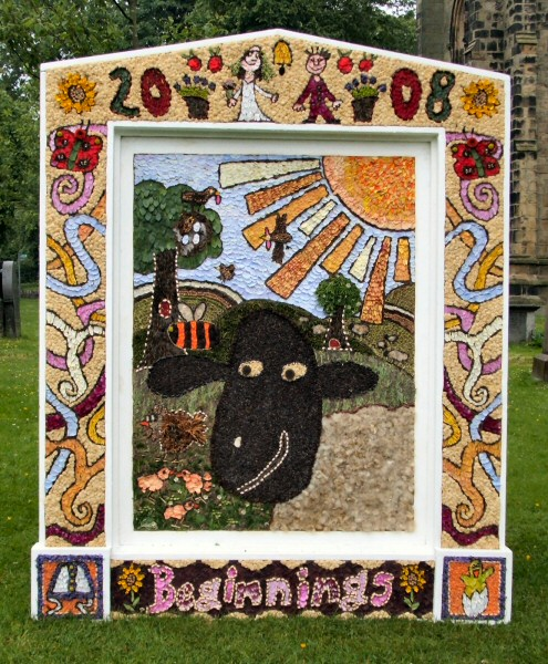 Tideswell 2008 - School Well Dressing