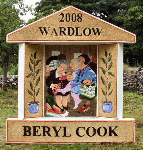 Wardlow 2008 - Village Well Dressing