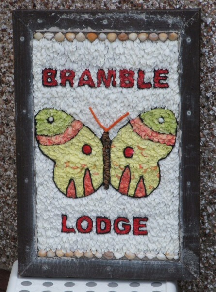 West Hallam 2008 - Bramble Lodge Residential Home Well Dressing