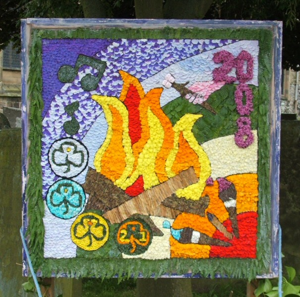 Youlgrave 2008 - Guides' Well Dressing