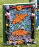 St Elizabeth's RC Primary School Well Dressing (5)