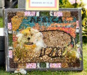 St John's CE Primary School Well Dressing (7)