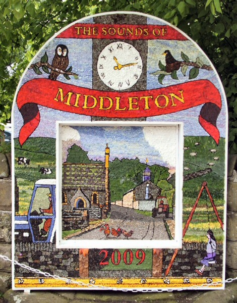 Middleton by Youlgrave 2009 - Village Well Dressing