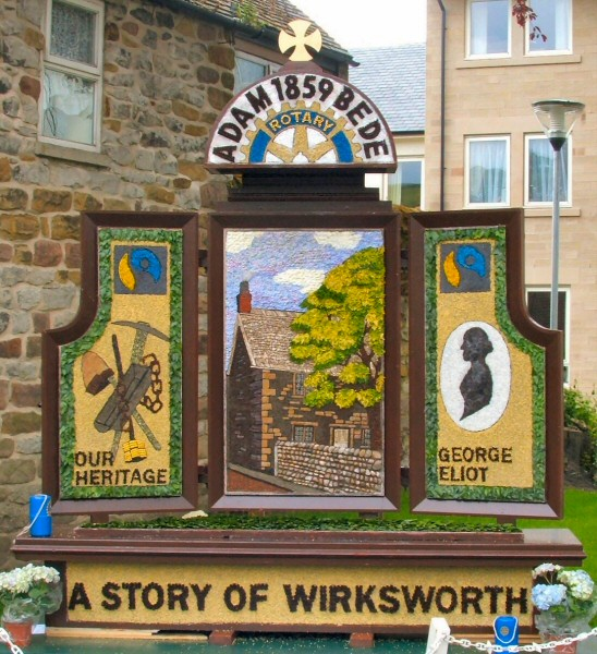 Wirksworth 2009 - Rotary Club Well Dressing