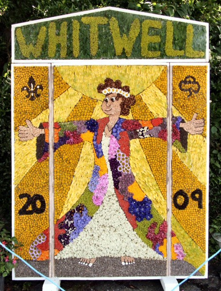 Whitwell 2009 - Village Square Well Dressing