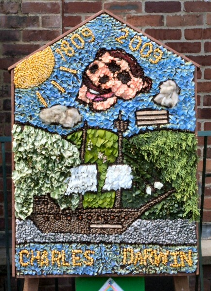 Marston Montgomery 2009 - Primary School Well Dressing