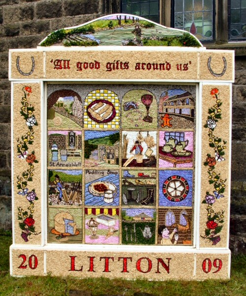Litton 2009 - Methodist Church Well Dressing