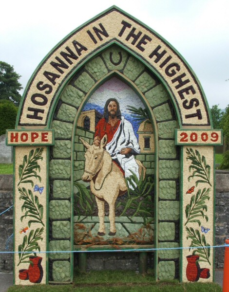 Hope 2009 - St Peter's Church Well Dressing