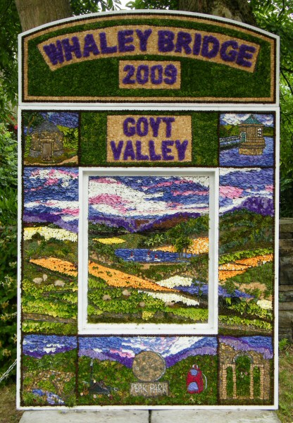 Whaley Bridge 2009 - Canal Basin Well Dressing