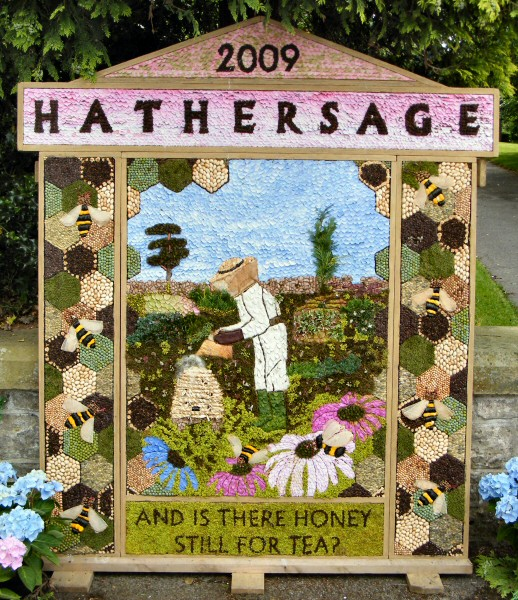 Hathersage 2009 - Methodist Church Well Dressing