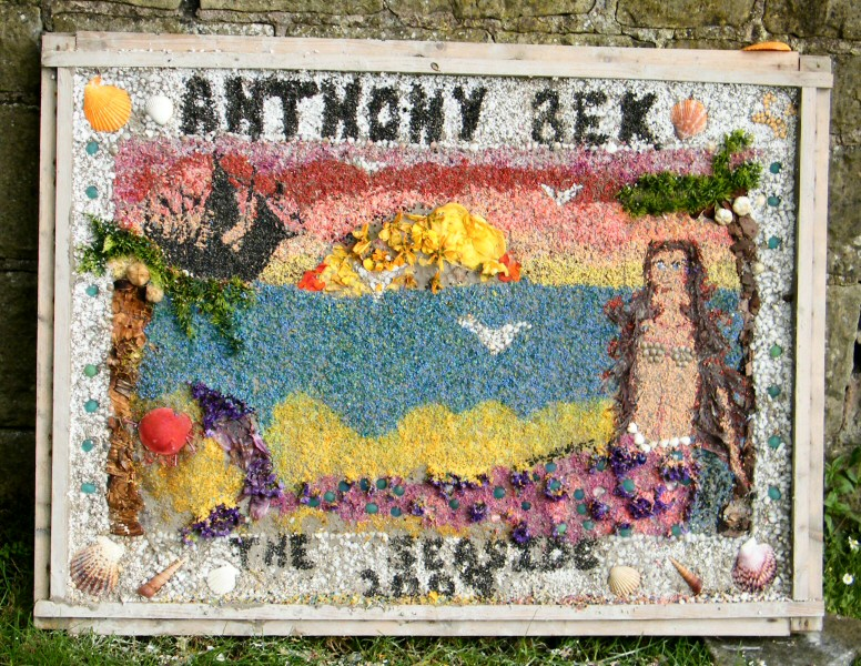 Pleasley 2009 - Anthony Bek Primary School Well Dressing
