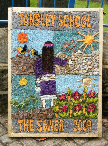 Tansley 2009 - Primary School Well Dressing
