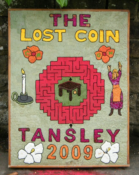 Tansley 2009 - Church Street Well Dressing (1)