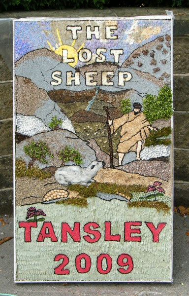 Tansley 2009 - Old Rectory Well Dressing