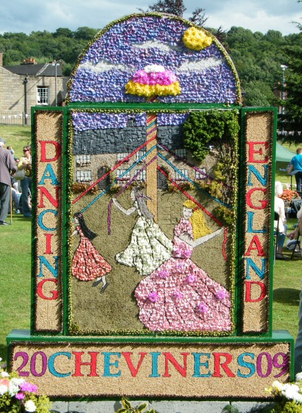 Belper 2009 - Cheviners' Well Dressing