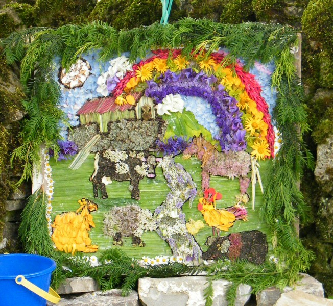 Grindon 2009 - Cawbrook Well Dressing
