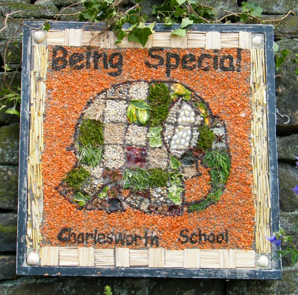 Charlesworth 2009 - Charlesworth School Well Dressing (3)