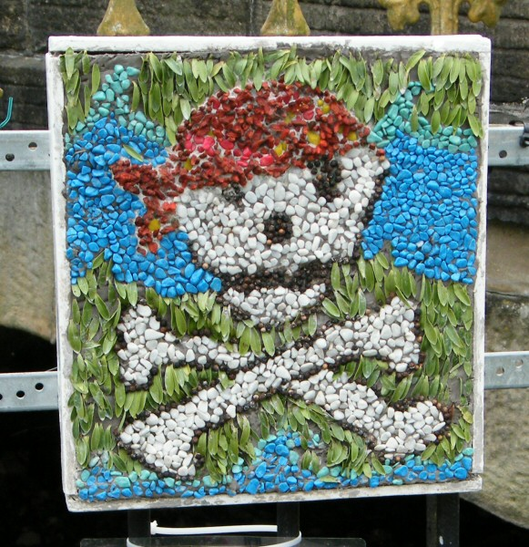 Hayfield 2009 - Cubs & Scouts Well Dressing