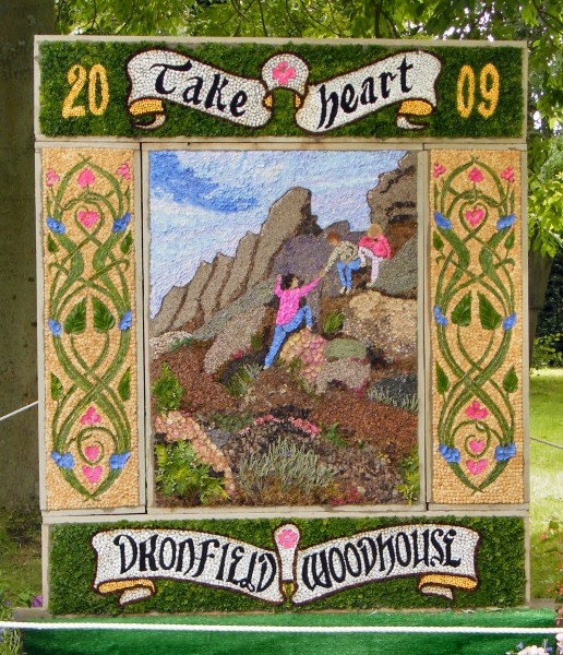 Dronfield Woodhouse 2009 - Main Well Dressing