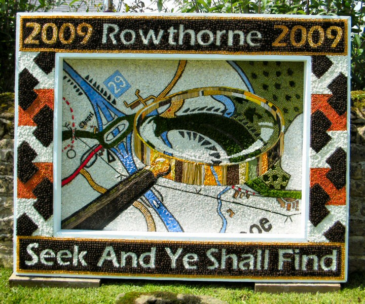 Rowthorne 2009 - Village Well Dressing