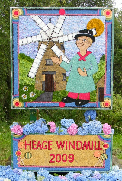 Heage 2009 - Windmill Well Dressing