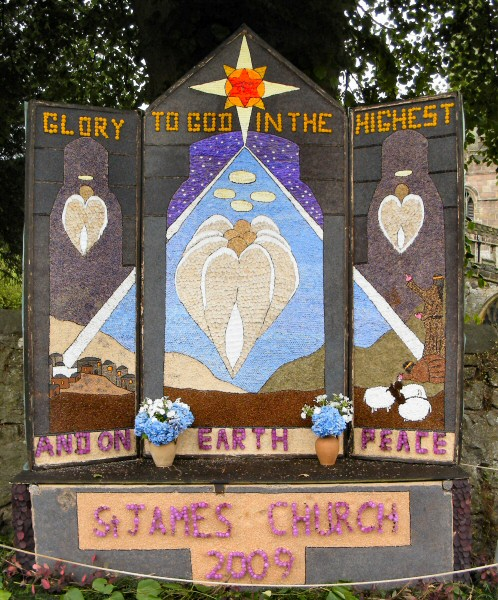 Bonsall 2009 - St James' Church Well Dressing