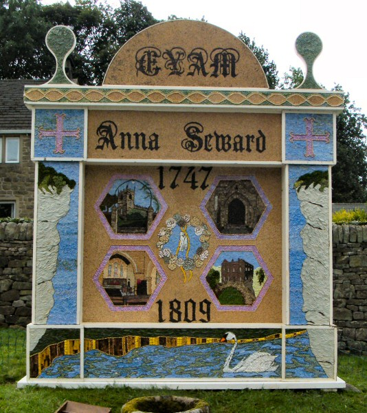 Eyam 2009 - Town End Well Dressing
