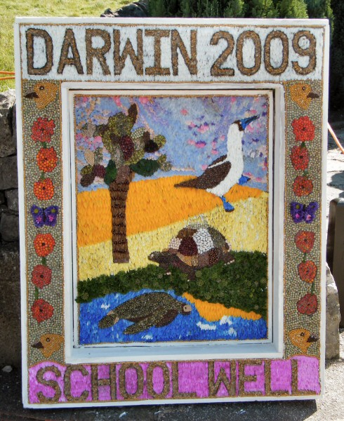 Hartington 2009 - School Well Dressing