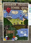 Swanwick Primary School Well Dressing
