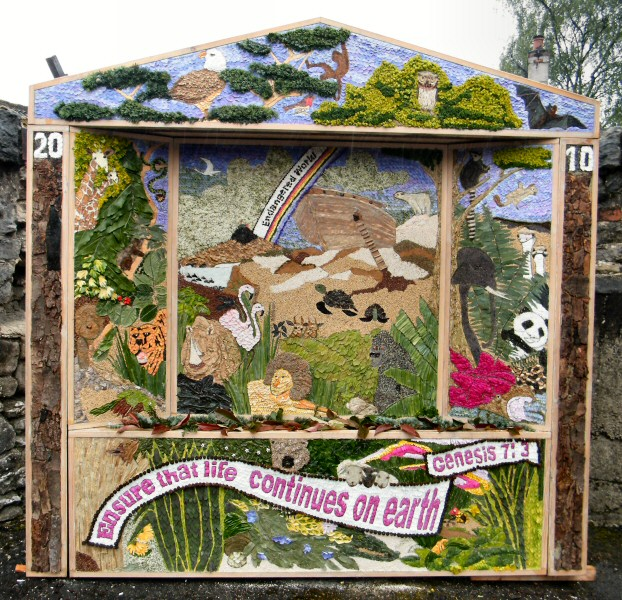 Wirksworth 2010 - Methodist Church Well Dressing