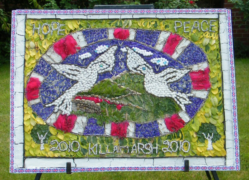 Killamarsh 2010 - Methodist Church Well Dressing