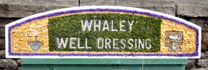 Whaley Bridge 2010 - Additional Well Dressing at Canal Basin (Whaley Well Dressing)