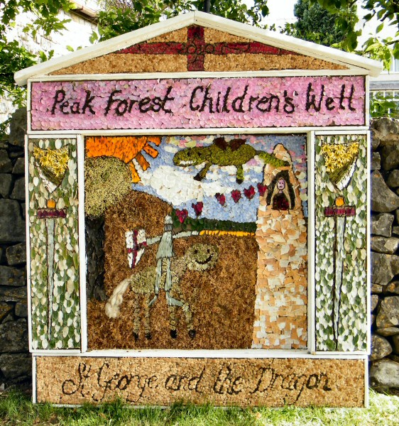 Peak Forest 2010 - Old Dam Well Dressing