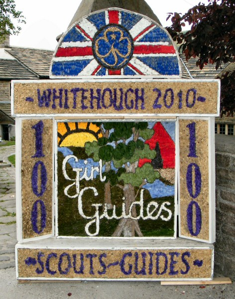 Whitehough 2010 - Scouts & Guides Well Dressing