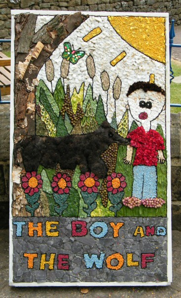 Tansley 2010 - Methodist Church Well Dressing