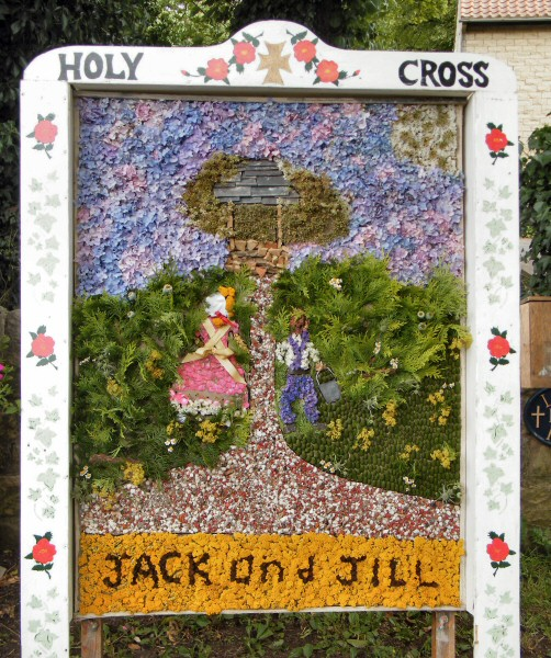 Upper Langwith 2010 - Langwith Residents Well Dressing