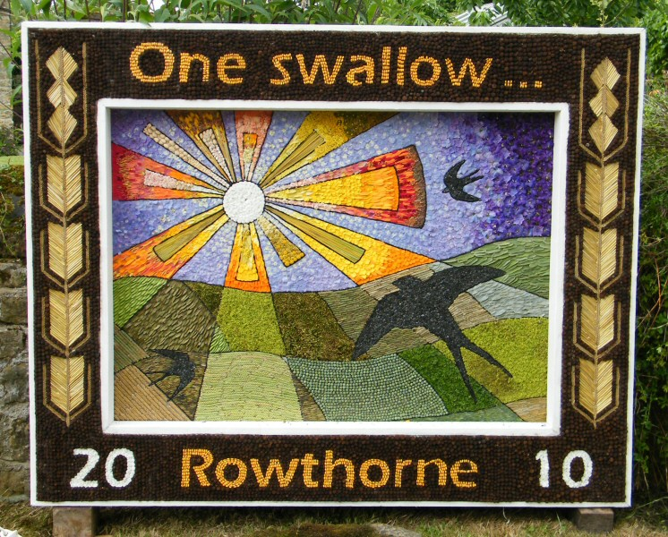 Rowthorne 2010 - Village Well Dressing